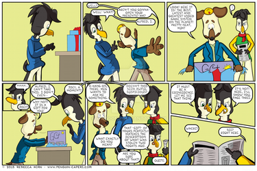 Penguin Capers page 130 by Watoons