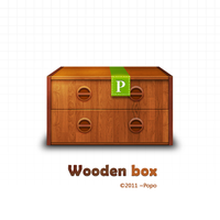 Wooden box by impopo