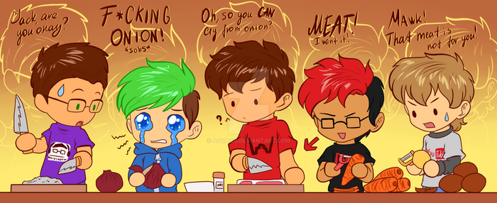 .: GANG - Cooking Time :. by AquaGD