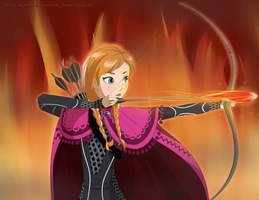 Princess Anna: Girl on Fire? by LadyMid0ri