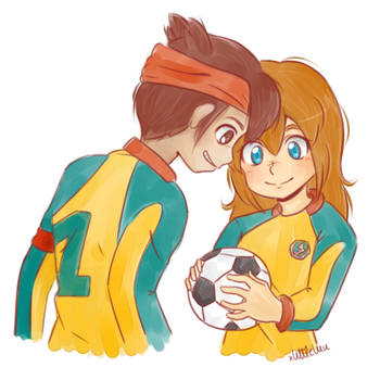 ''We will protect the goal. Together.'' by xLittleLuu