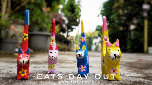 cats day out by iwoth