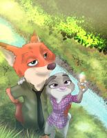 Judy and Nick by XenSoto