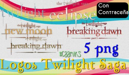 Logos Twilight Saga png Con contracenia by CaamiKS