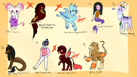 Creature adopts (6/9 OPEN) by SuperSiri
