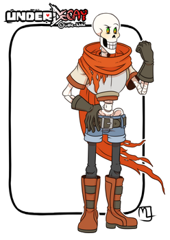Underdecay- Papyrus by Little-Noko