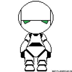 Marvin, the paranoid android by gentlemankevs