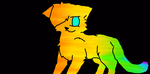 Full body rainbow cat FREE CLOSED by NeonCandyLights