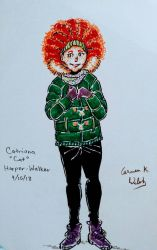 Catriona Cat Walker by CopperSphinx