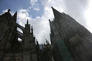 cologne cathedral by xwannabex