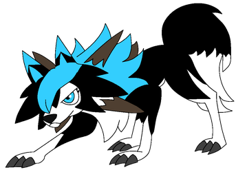 Lennay [Lycanroc Midday Version] by Mangled-Funtime-Fox