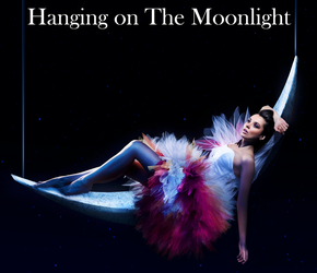 Hanging on The Moonlight by David-Michaels