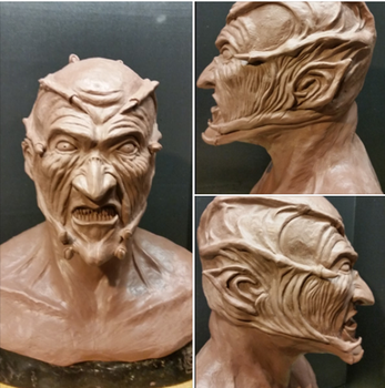 Jeepers Creepers Mask _ WIP by Skr1bblez