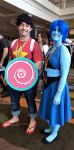 Megacon 2018 Steven and Lapis by kingofthedededes73