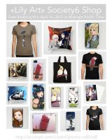 Free Shipping from Society6 by LilyT-Art