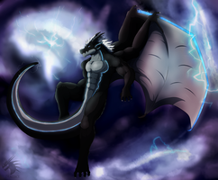 Let Thar be Storms by DRACOICE