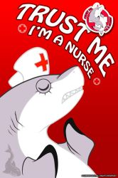 Trust Me - I'm a Nurse [Shark Set 3 of 4] by EzriArt
