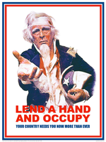 Lend A Hand And Occupy by poasterchild