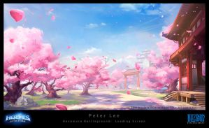 Hanamura Battleground by peterconcept