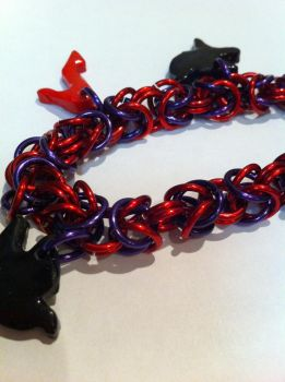 Sailor Mars Bracelet by KittieKitsuneko