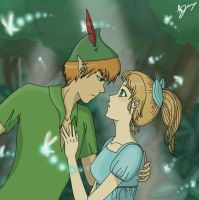 Peter and Wendy by Mietschie