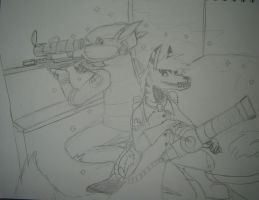 Sniper and Medic WIP by Questionablexfun