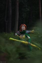 DotA 2 - WR - Time for target practice by MilliganVick
