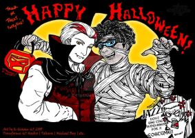 Happy Halloween +PxJ+ by k-tiraam