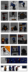 Blue Crew (Comic) by TophatGeo
