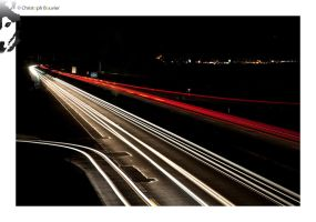 Autobahn to Graz by BottledLights