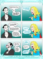 Supergirl Vs Zod by PlanetDann