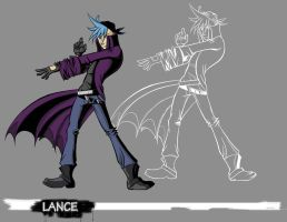 Villains: Lance by Luvcnkll