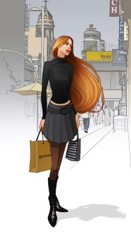 shopping in Madrid by javieralcalde