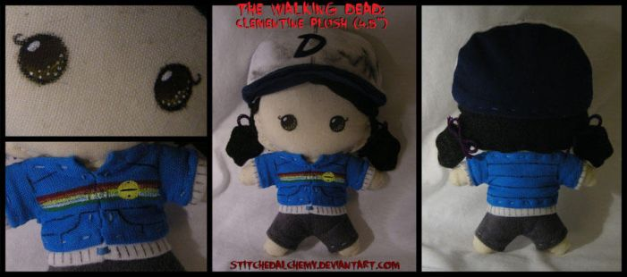 The Walking Dead: Clementine Plush (4.5 inch) by StitchedAlchemy