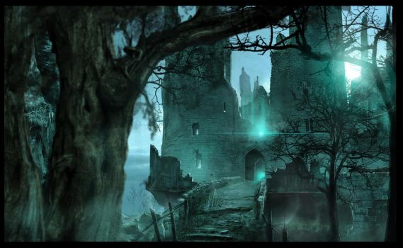 Digital Arts : Dol Guldur rises by Gycinn