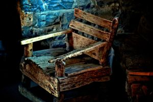 Yep, it is an old chair. by blakelemmons