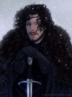 Jon Snow by cosmogirll
