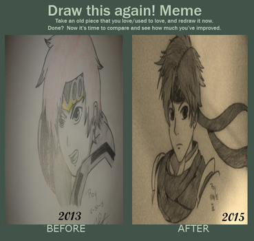 Draw This Again! MEME by cromsifing