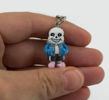 Sans Charm Commission by WispyChipmunk