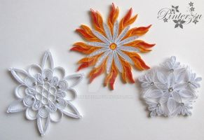Christmastree ornaments by pinterzsu