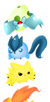 Legendary chickadees owo by chibitracy
