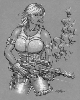 Silver Sable by 93Cobra