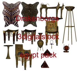 Egypt pack by 3DigitalStock