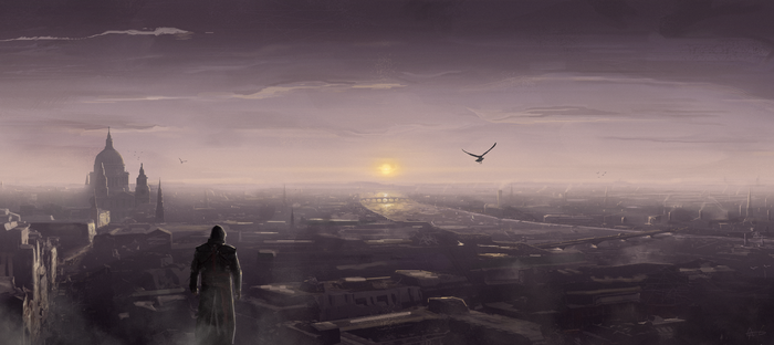 A New Day - Assassin's Creed Syndicate Fan Art by BB22Andy