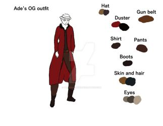 ade og outfit ref WIP by TheCipherNine
