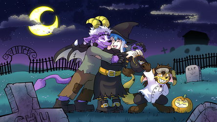 October 2015 Patreon Wallpaper Preview by raizy