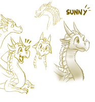 Sketches - Sunny (WoF) by StarWarriors