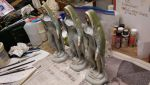Nude virgin mary statuettes by dementorrain