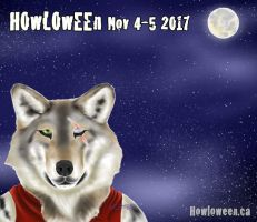 Full Moon - Art By Opal Owl by HowloweenCanada