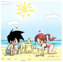 Beach Day by PotemkinBuster